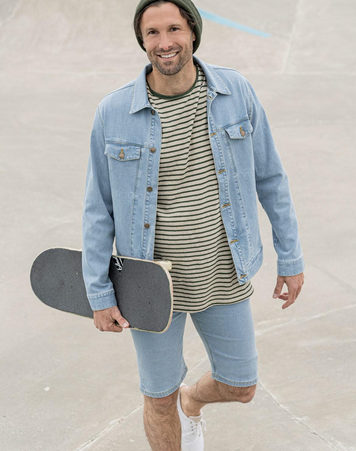 Lyocell (TENCEL™) Jeans Shorts