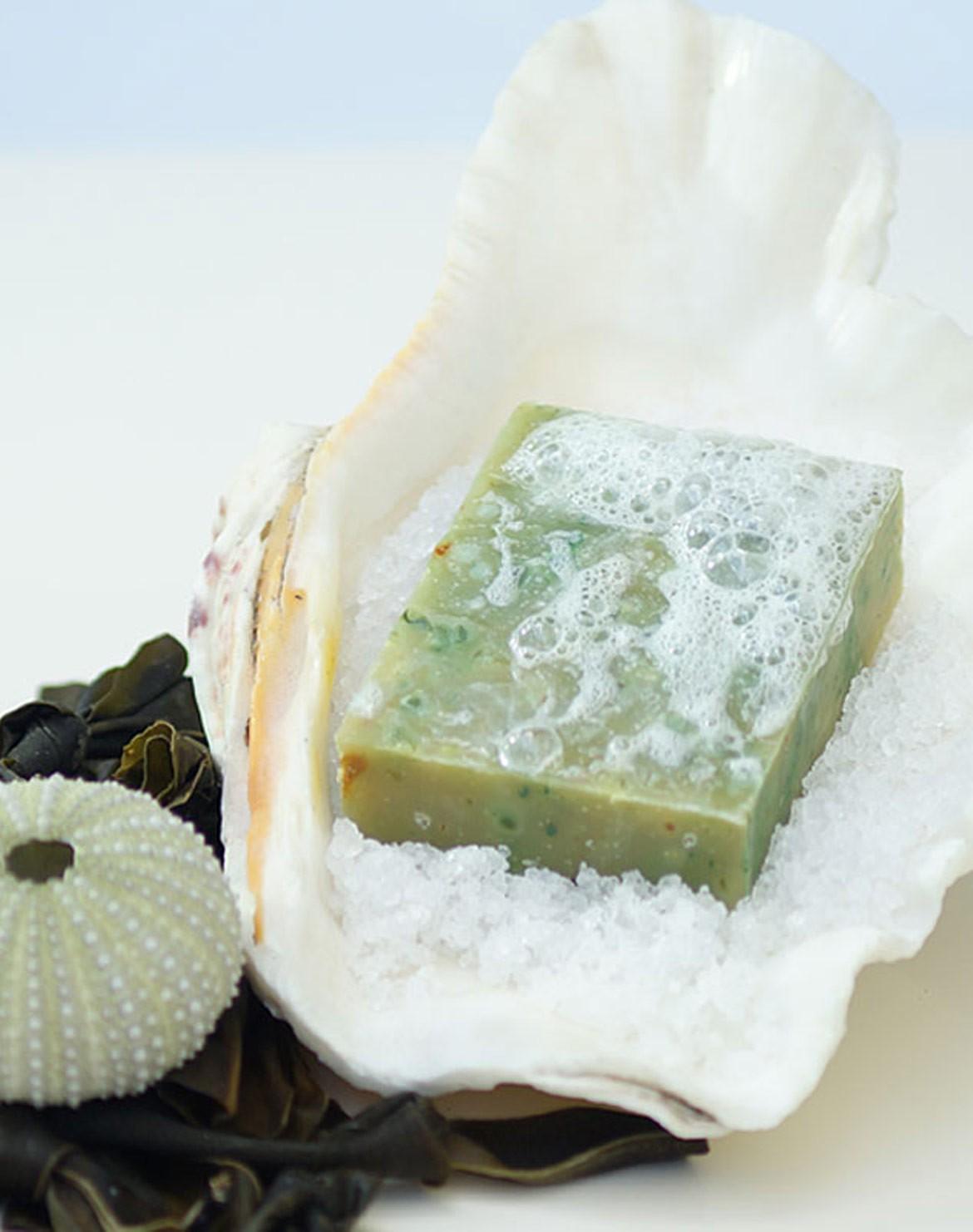 Algae Sea Salt Shampoo Soap