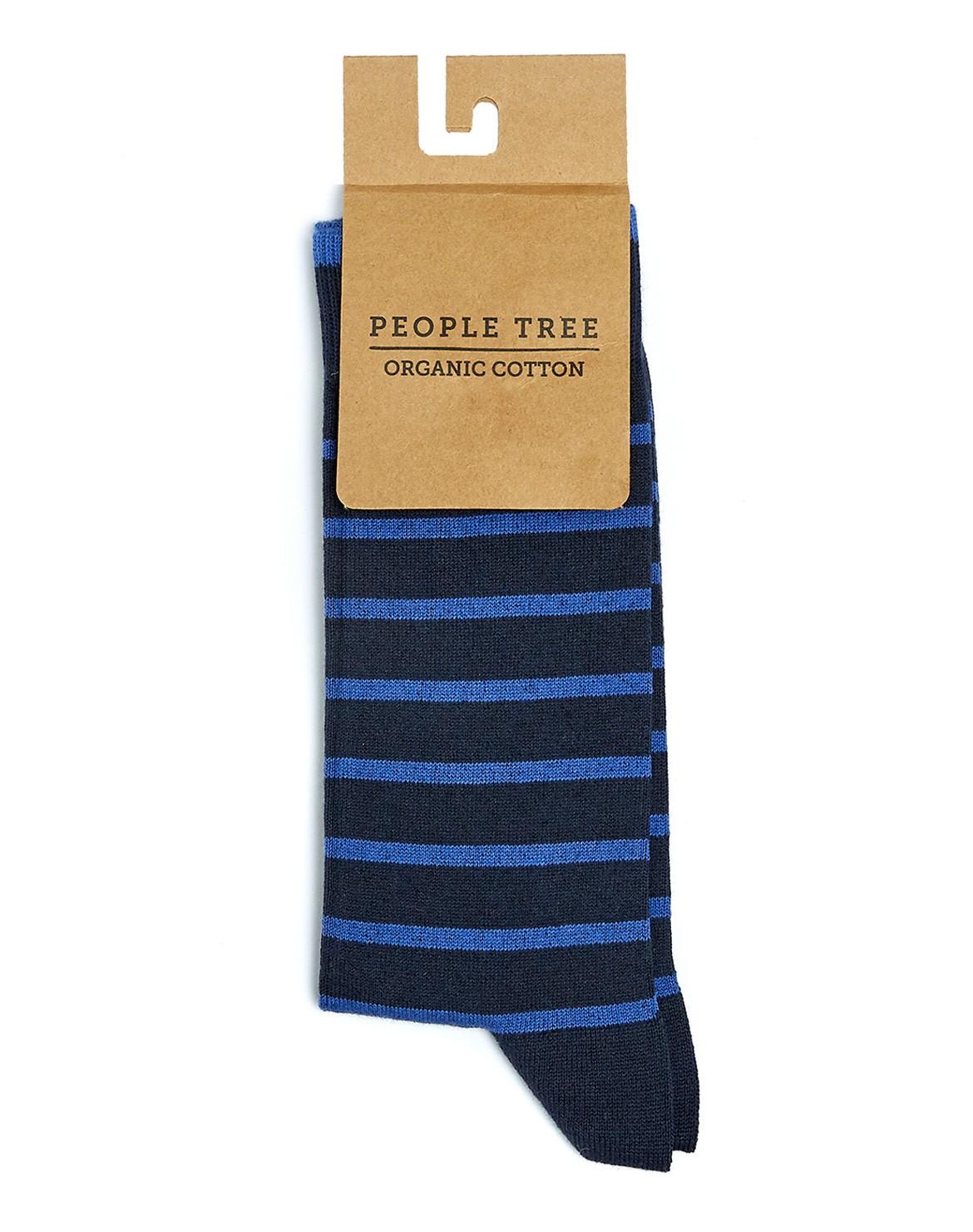 Striped Socken