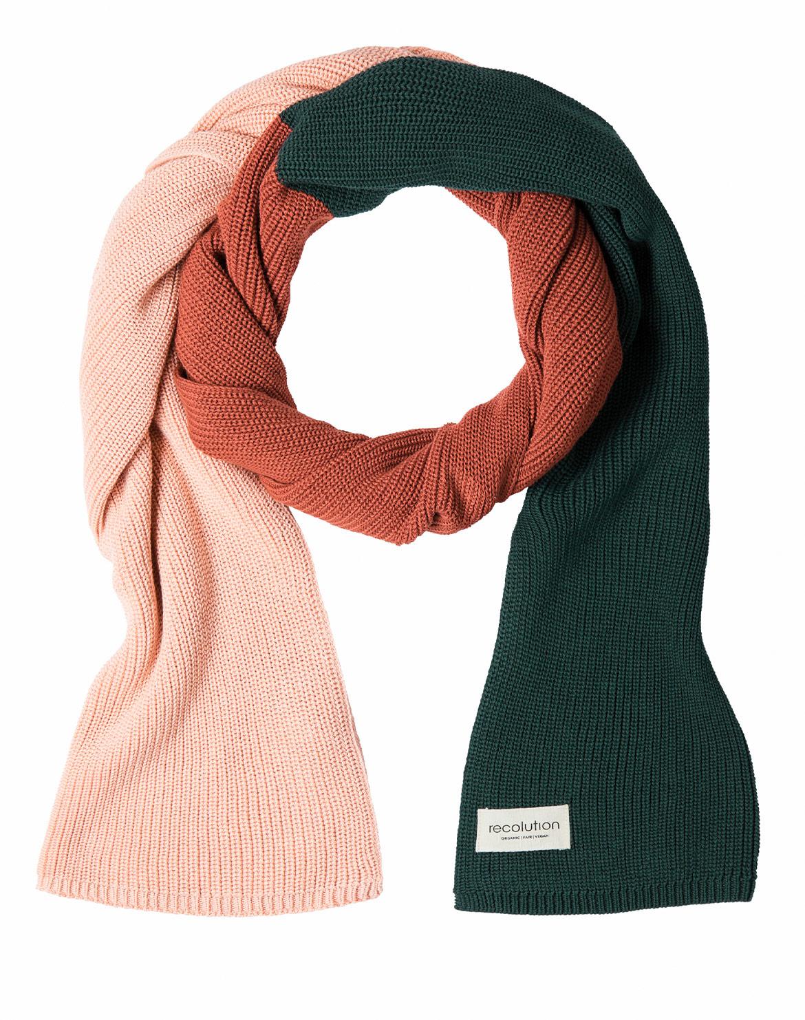 Rose/Warm Orange/Green
