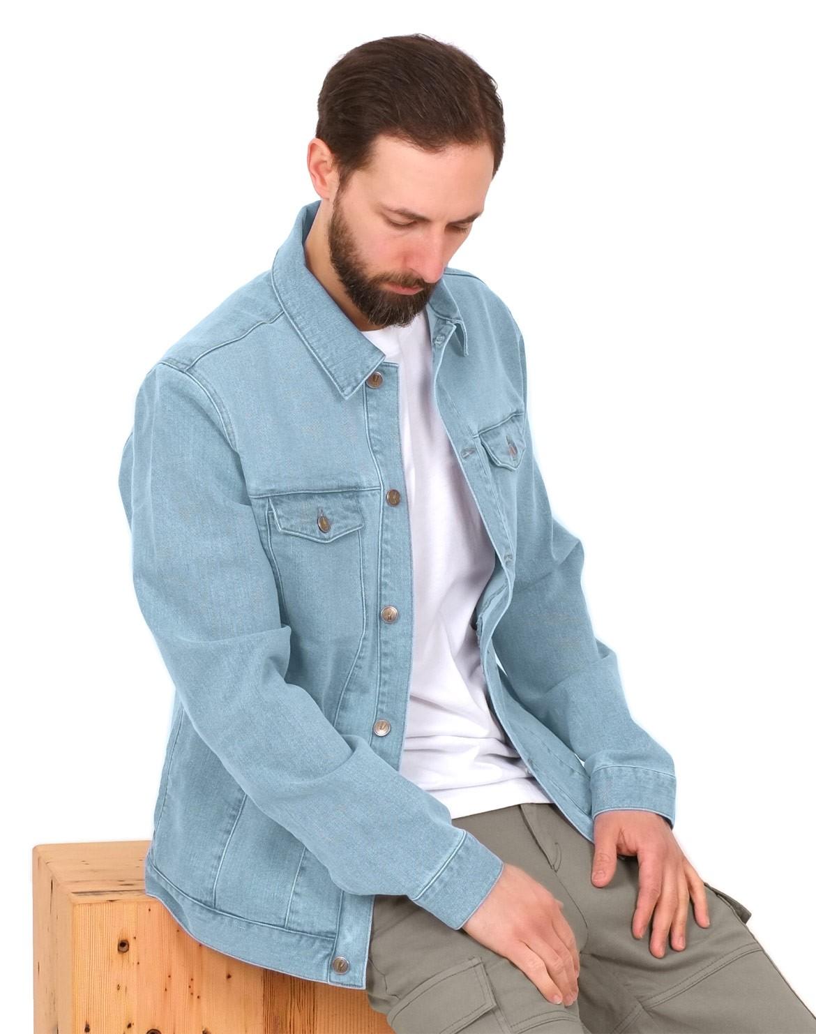 Lyocell (TENCEL™) Jeans Jacke