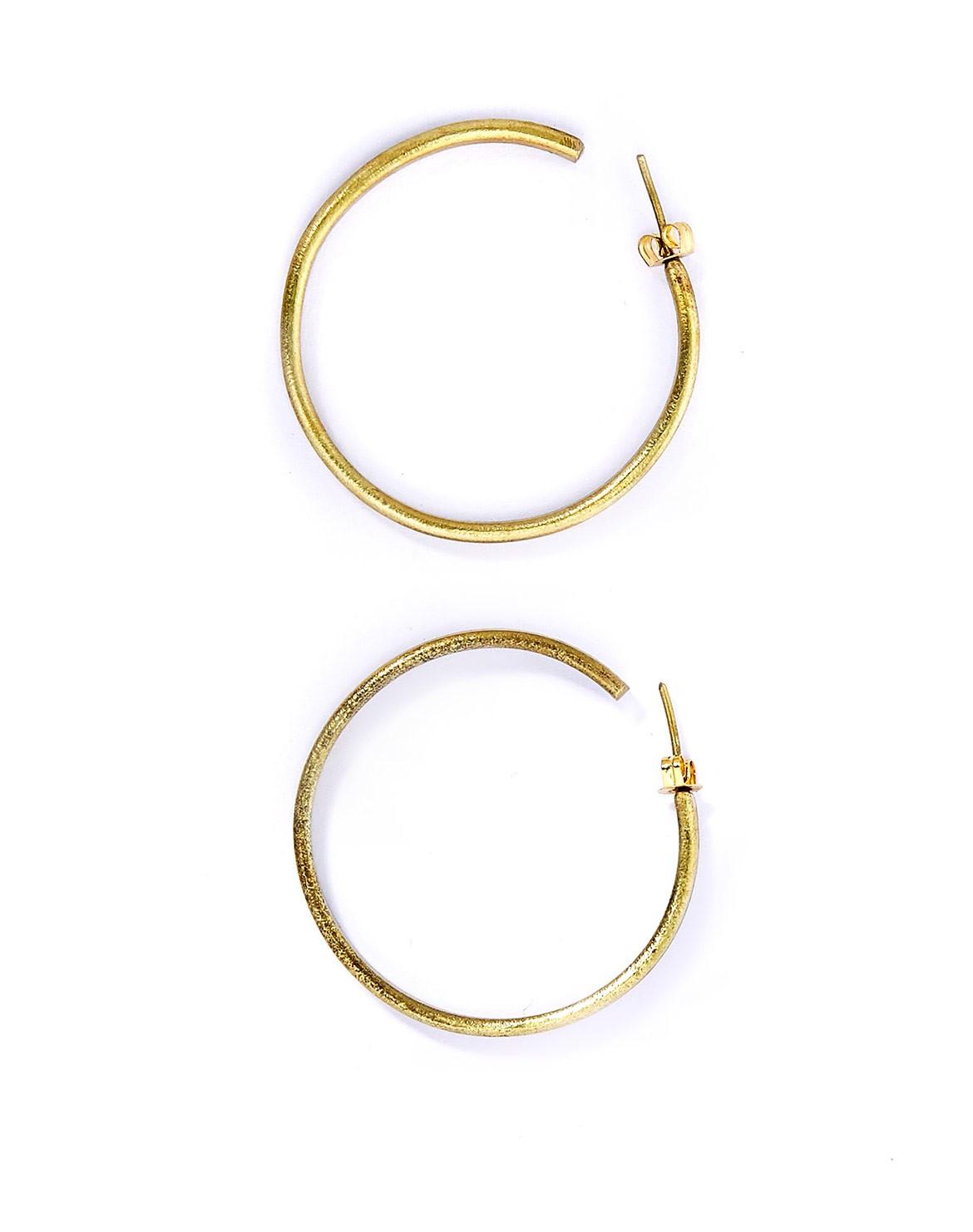 Simple Hoop Ohrringe