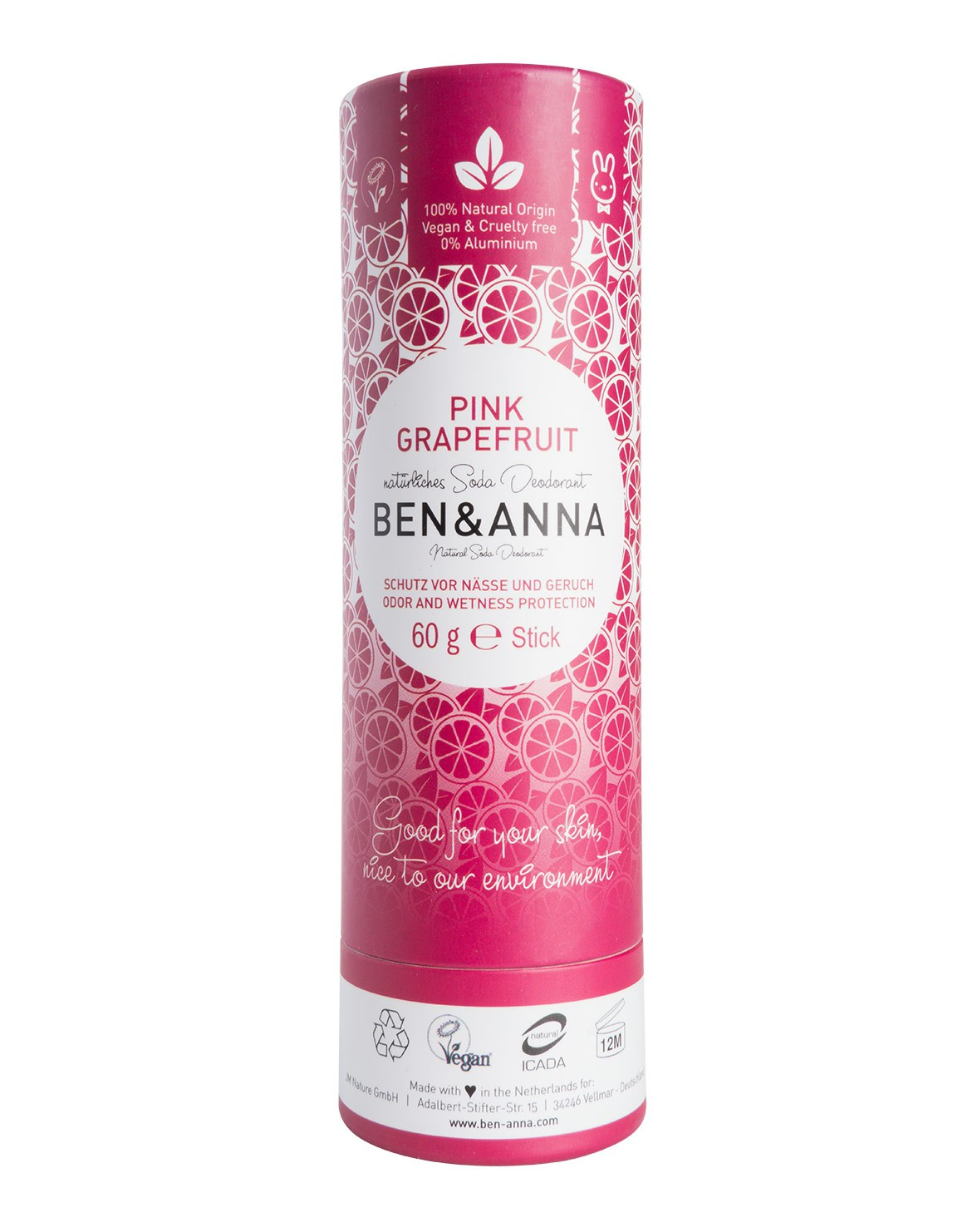 Pink Grapefruit Deodorant